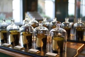 Cire Trudon bell jar display