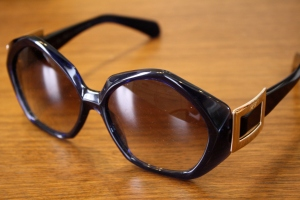 Roger Vivier sunglasses with pilgrim buckle
