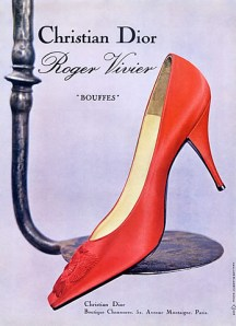 Roger Vivier for Christian Dior advertisment